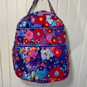 💜Vera Vradley Floral Insulated Lunch Bag